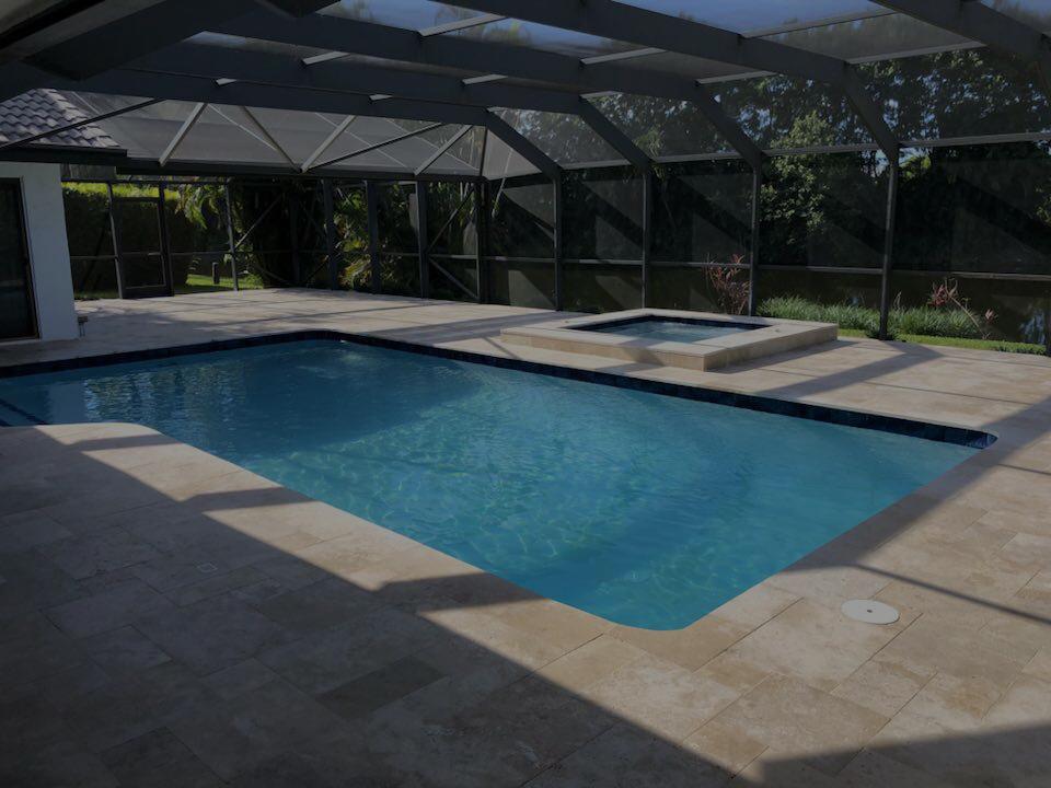 Pool beside pool
